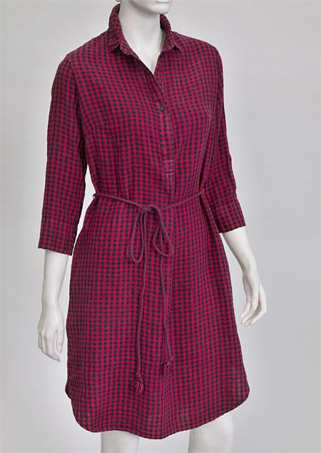 Linen Dress D22782 KCV