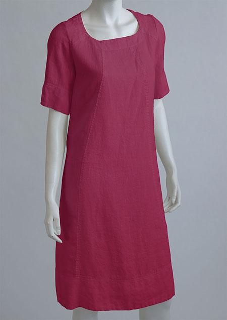 Linen Dress D22791 CV2