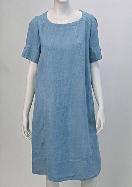 Linen Dress D22791 MO1