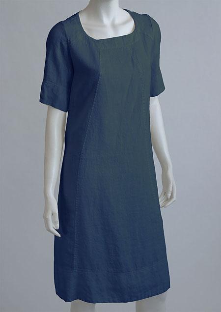 Linen Dress D22791 NA3