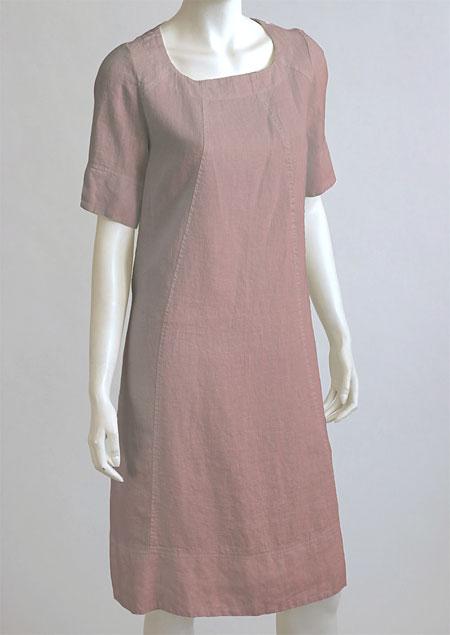 Linen Dress D22791 RU1
