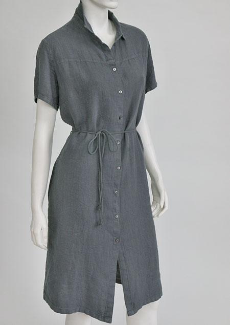Linen Dress D22810 SE2