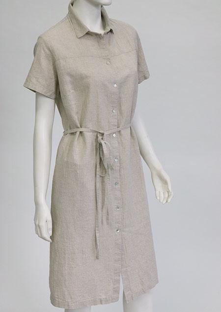 Linen Dress D22811 ZBE