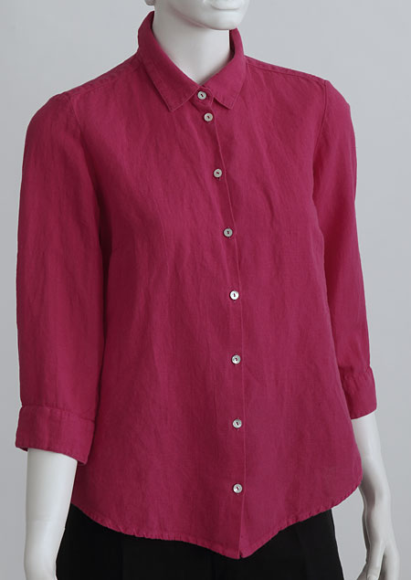 Ladies linen shirt D44450 CV2