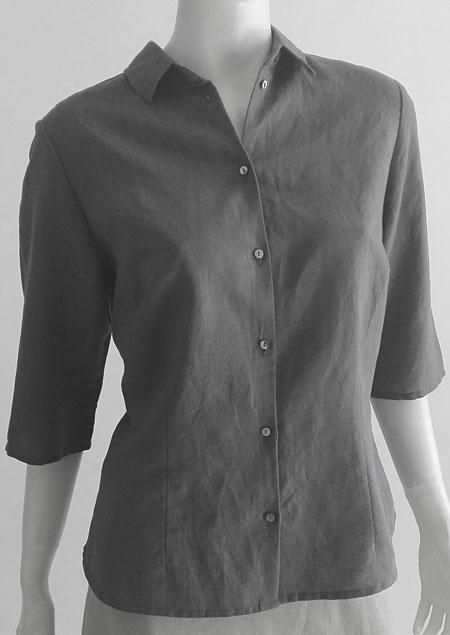 Ladies linen shirt D44462 SE2