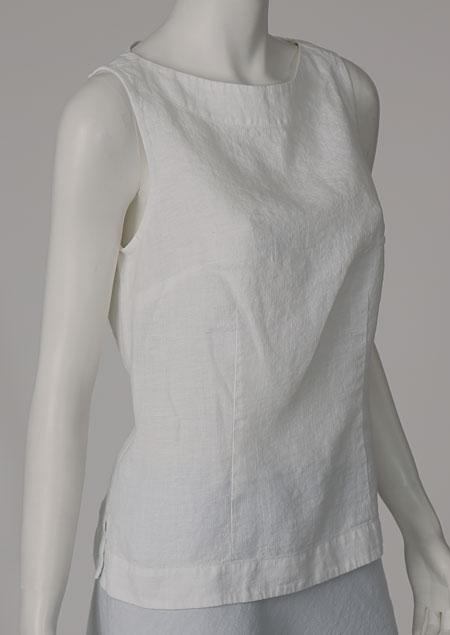 Linen blouse D44470 BI2