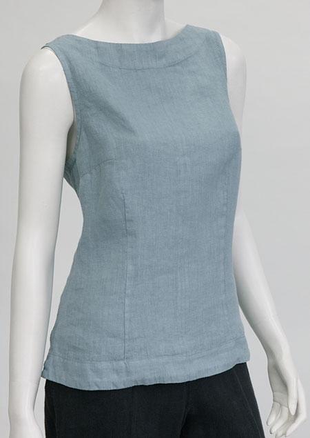 Linen blouse D44471 MO1