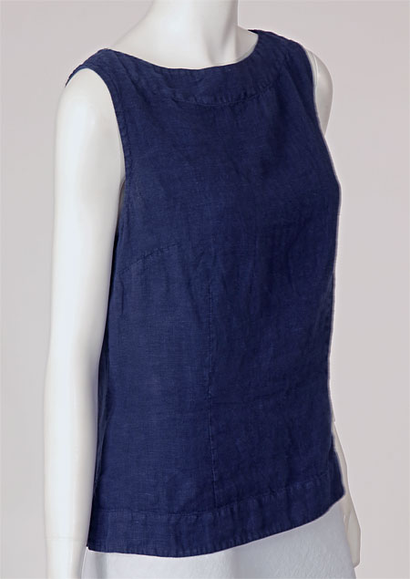 Linen blouse D44471 NA3