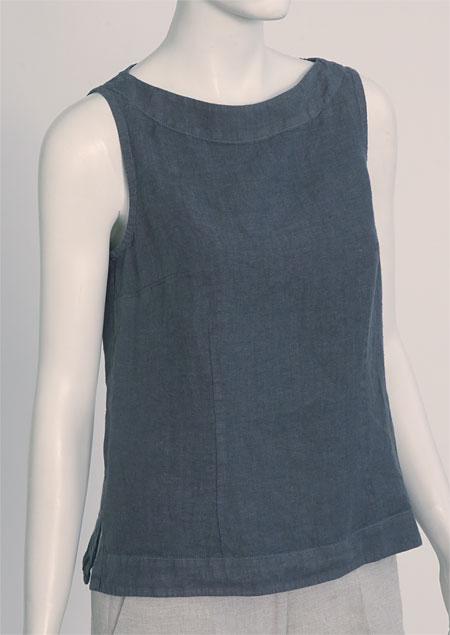Linen blouse D44471 SE2