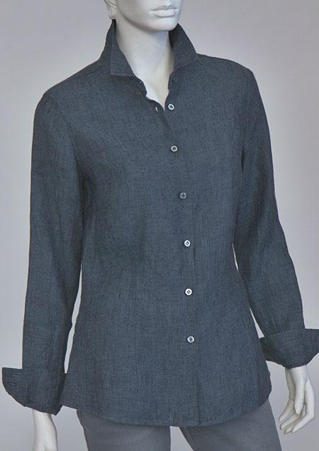 Ladies linen shirt D44494 VNA