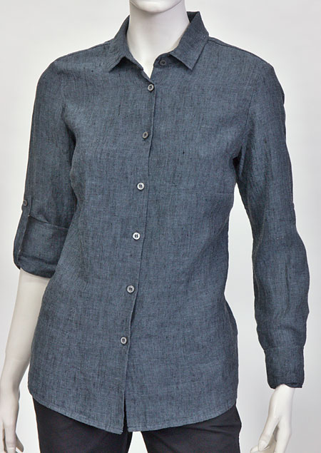 Ladies linen shirt D44496 VNA