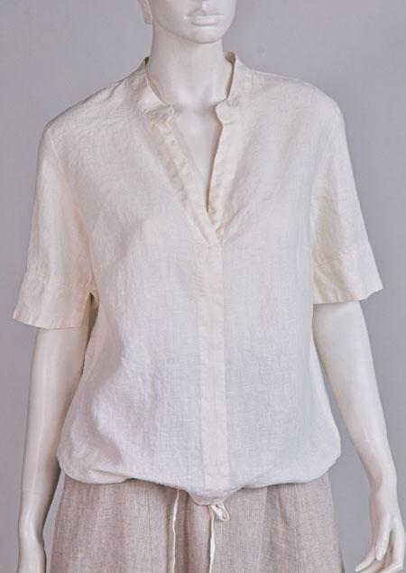 Linen blouse D44580 BE2