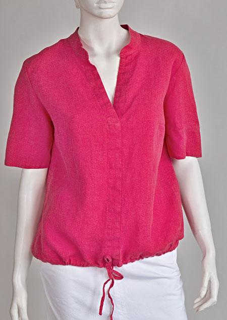 Linen blouse D44580 CV1