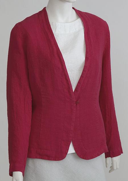Women linen jacket D53130 CV2