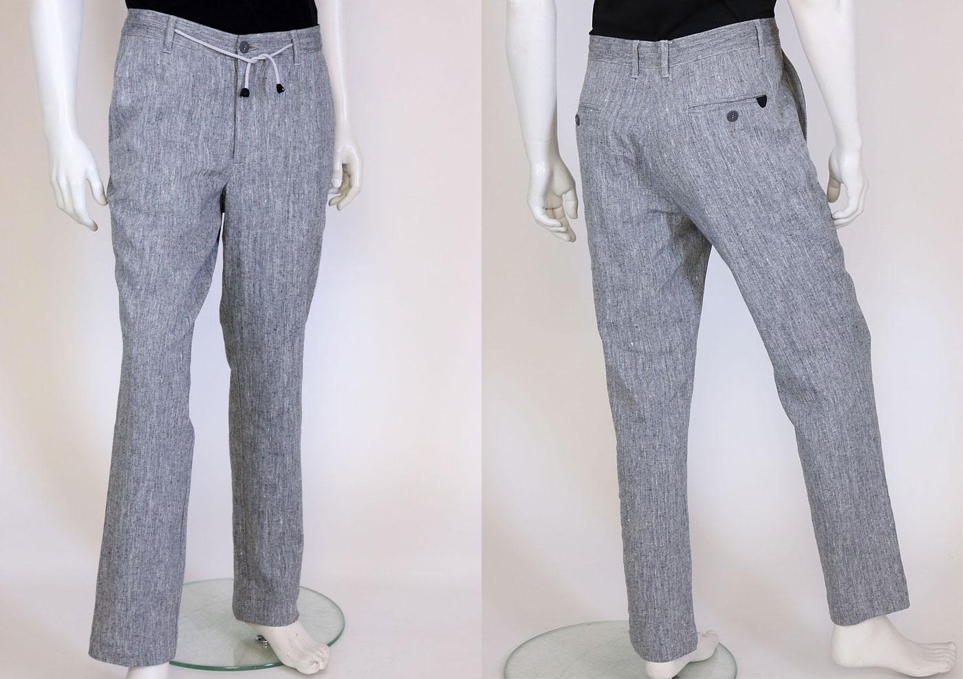Linen trousers H112280 VMO