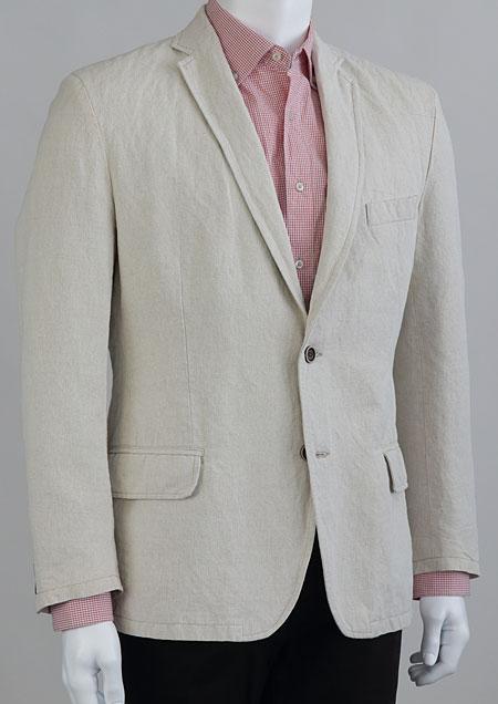 Linen suit jacket H53430 BE2