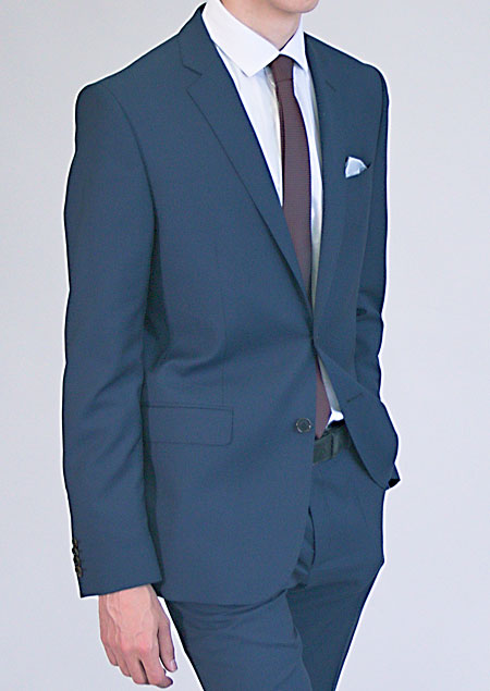 Men's Slim Suit Jacket H53530 MO1