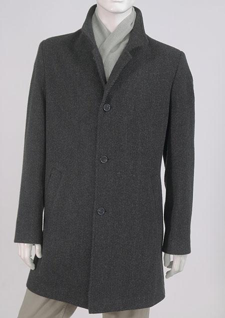 Pánský vlněný kabát H611771 AN1
