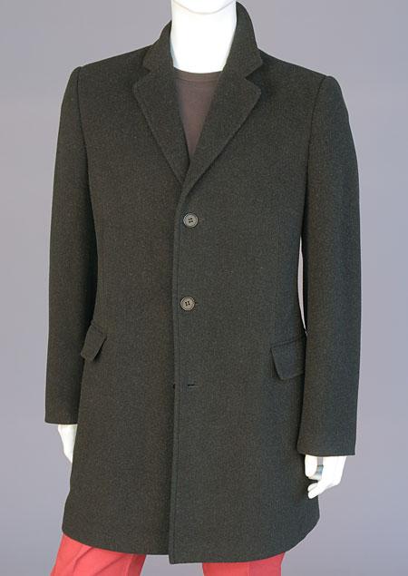 Pánský vlněný kabát H71221 AN1