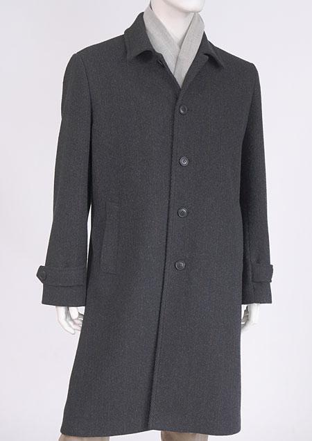 Pánský vlněný kabát H71230 AN1