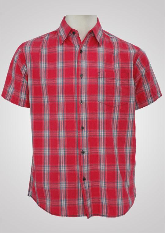 pánská košile krátký rukáv,léga, levá prs.kapsa M48220