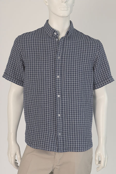 Lněná košile M49153 KSE