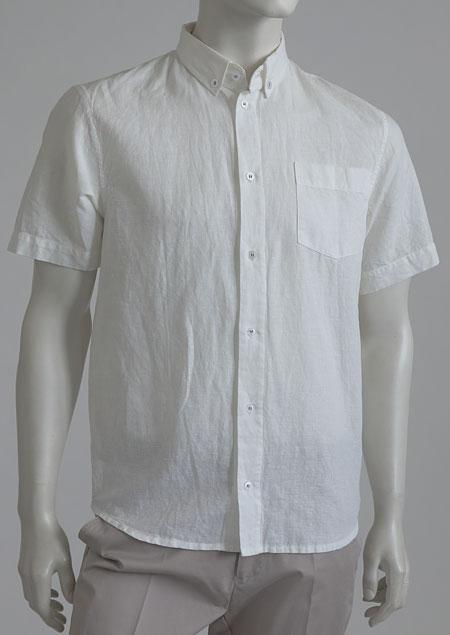 Lněná košile M49154 BI1