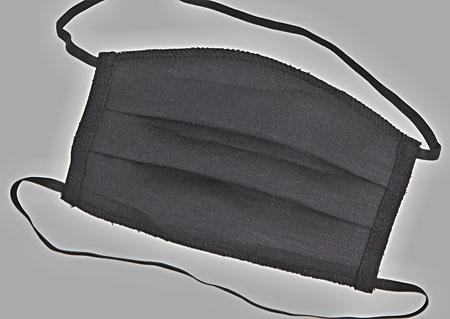 Ručně šité 3vrstvé lněné roušky s filtrační vrstvou - pratelné na 60°C - 3 kusy - s dvojitým uchycením za hlavu a krk M900510 CE1