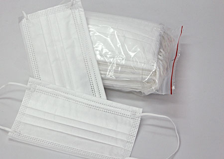 Disposable protective masks 50pieces, BFE≥ 90%, attached to the ears M900750 BI1
