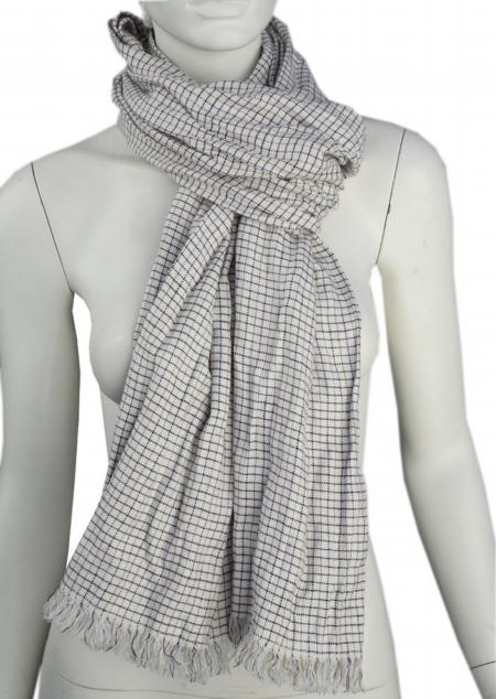 Linen scarf W87280 KBI