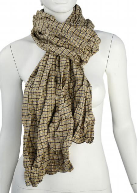 Linen scarf W87280 KZL