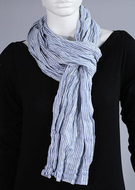 Linen scarf W87280 MO1