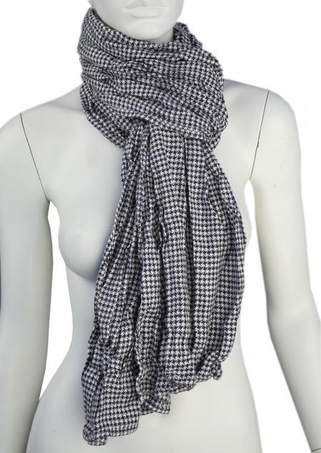 Linen scarf W87280 ZNA