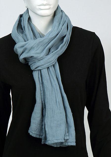 Linen scarf W87383 MO1